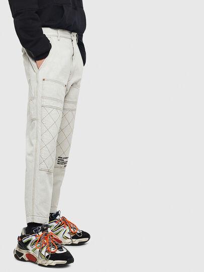 Diesel - D-FRAK, White - Pants - Image 4