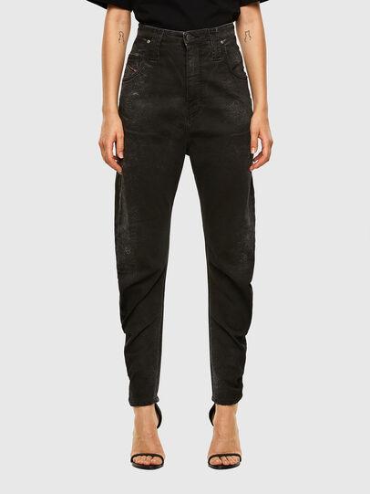 Diesel - D-Plata JoggJeans® 009DS, Black/Dark grey - Jeans - Image 1