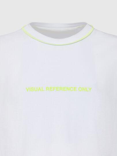 Diesel - T-JUSEAM, White - T-Shirts - Image 3