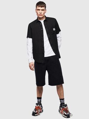 S-KIRUMA-B, Black - Shirts