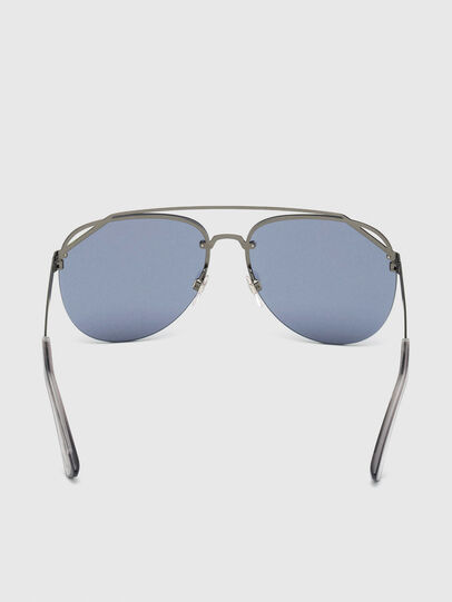 Diesel - DL0314, Grey/Blue - Sunglasses - Image 4
