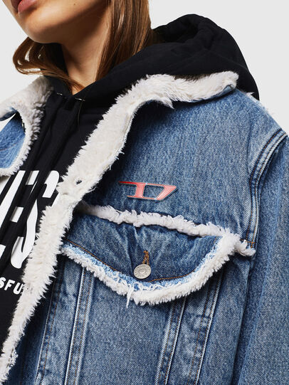 Diesel - DE-VALY, Medium blue - Winter Jackets - Image 3