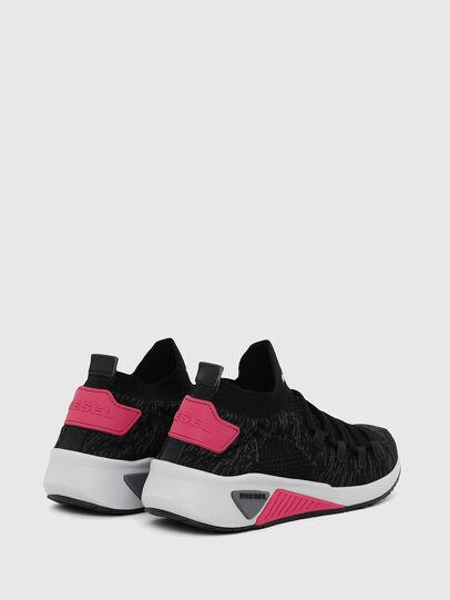 Diesel - S-KB ATHL LACE W, Black/Pink - Sneakers - Image 3