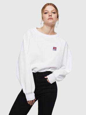 F-HENNY-E, White - Sweaters