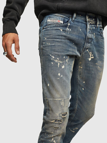 Diesel - Thommer JoggJeans 0870X, Medium blue - Jeans - Image 3