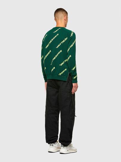 Diesel - K-DAVIS, Dark Green - Knitwear - Image 6