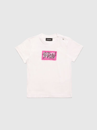 Diesel - TJUSTX62B, White - T-shirts and Tops - Image 1