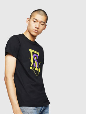 T-DIEGO-B3, Black - T-Shirts