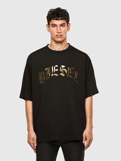 Diesel - T-BALL-A1, Black - T-Shirts - Image 1