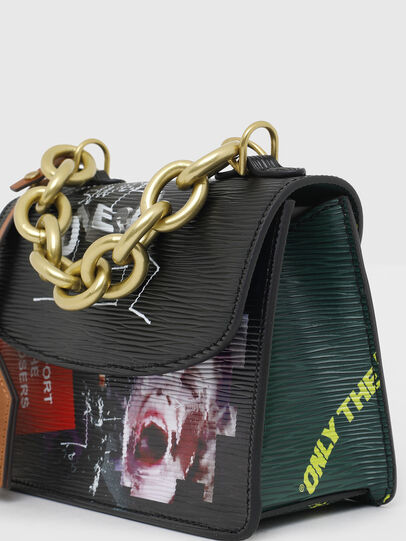 Diesel - ORMELLE MC, Black/Green - Crossbody Bags - Image 5