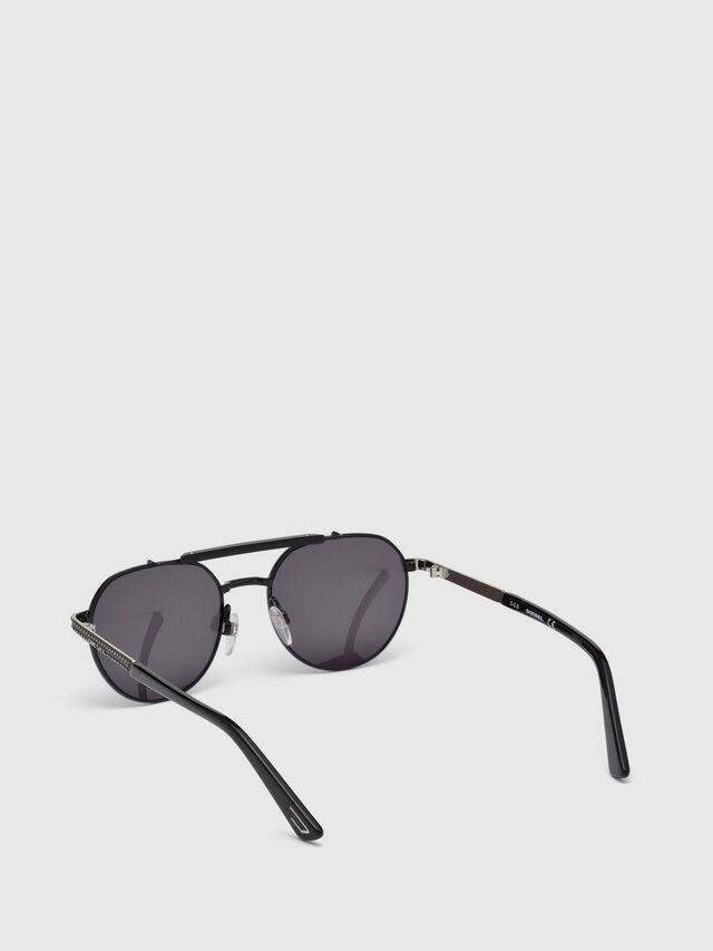 Diesel DL0239, Black - Eyewear - Image 2