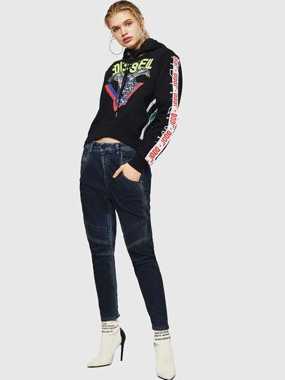 Diesel - Fayza JoggJeans 069HY, Dark Blue - Jeans - Image 5