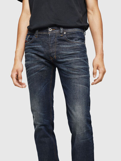 Diesel - Larkee 084ZU, Dark Blue - Jeans - Image 3