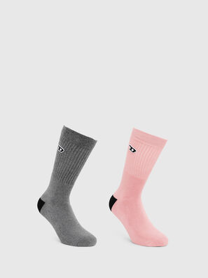 SKM-RAY-TWOPACK, Grey - Socks