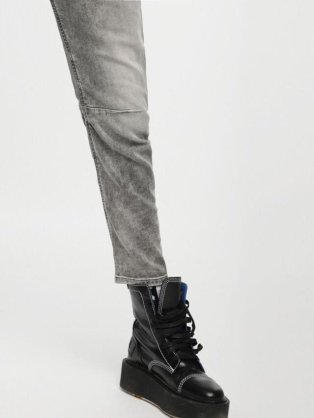 Diesel - Fayza JoggJeans 0855B, Light Grey - Jeans - Image 5