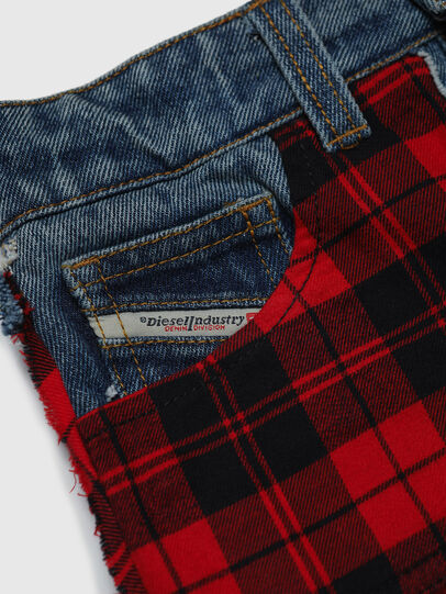 Diesel - GBETY, Red/Black - Skirts - Image 3