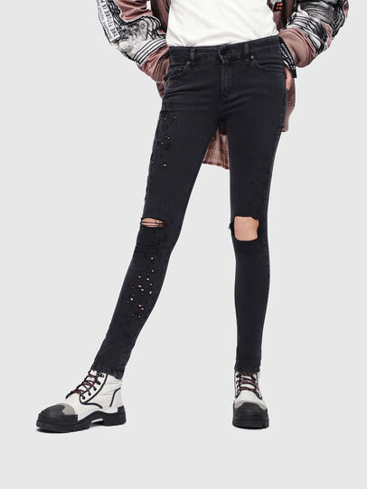 Diesel - Slandy 085AW, Black/Dark grey - Jeans - Image 1