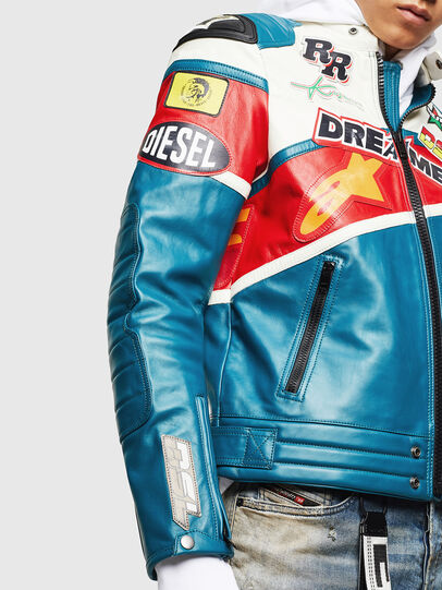 Diesel - ASTARS-LPATCH-1B,  - Leather jackets - Image 3