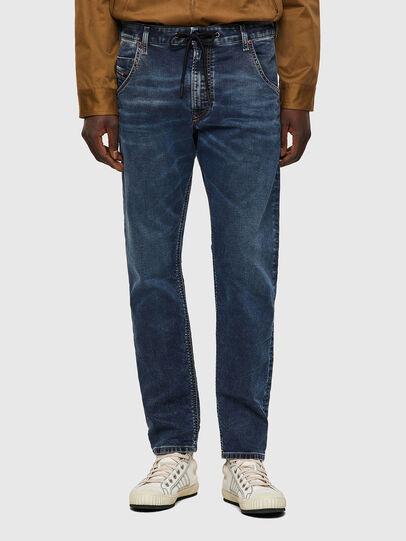 Diesel - Krooley JoggJeans® 069VX, Dark Blue - Jeans - Image 1