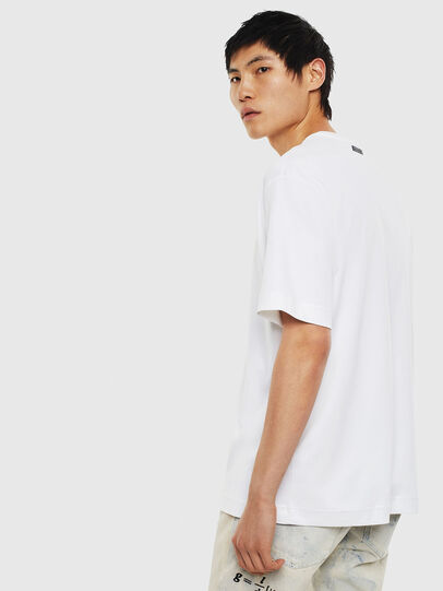 Diesel - TEORIALE-A, White - T-Shirts - Image 2