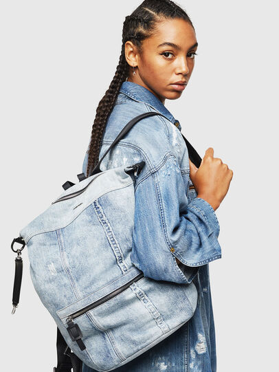 Diesel - SYLE, Grey Jeans - Backpacks - Image 7