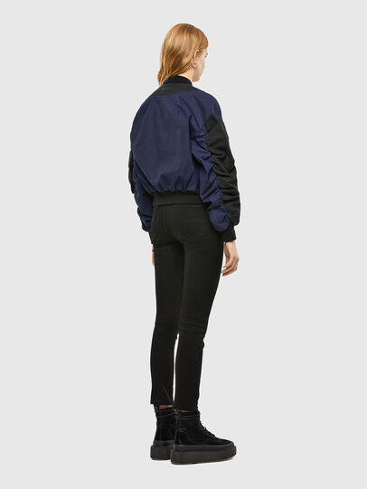 Diesel - D-STOK-SP JOGGJEANS, Black/Blue - Denim Jackets - Image 3