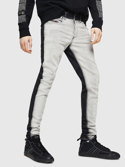 Diesel - Sleenker 082AX, Black/Dark grey - Jeans - Image 1