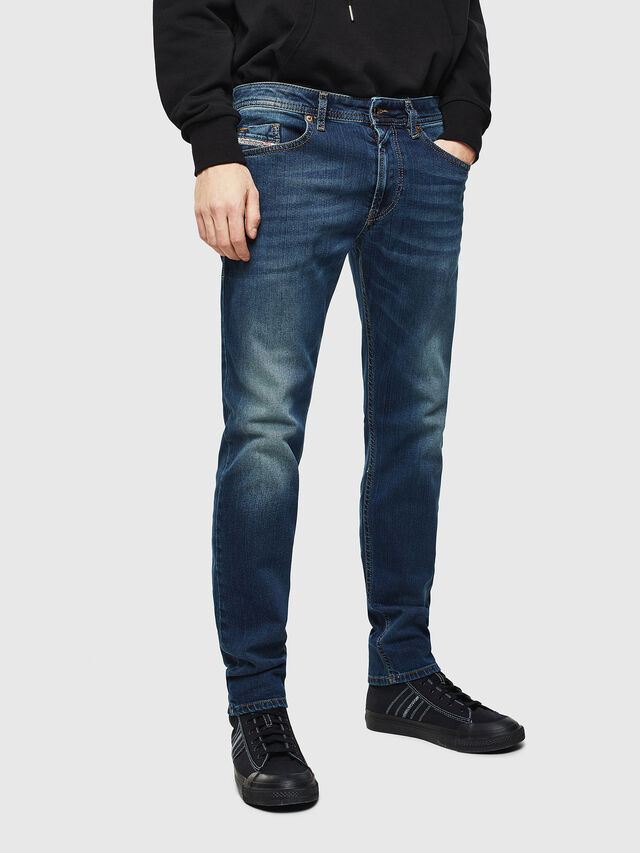 Diesel Thommer 084BU, Dark Blue - Jeans - Image 1