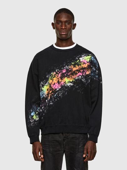 Diesel - S-MART-A92, Black - Sweaters - Image 1