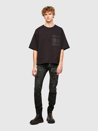 Diesel - T-DOLFY, Black - T-Shirts - Image 5