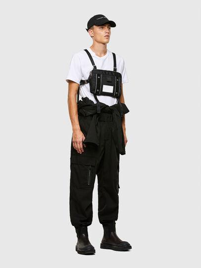 Diesel - P-DEVO, Black - Pants - Image 6