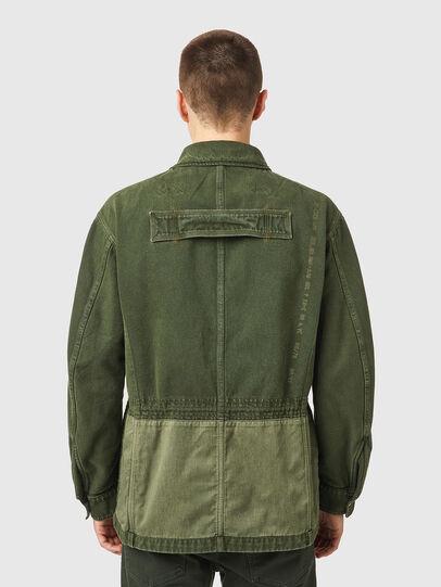 Diesel - D-NOVO-SP, Olive Green - Denim Jackets - Image 2