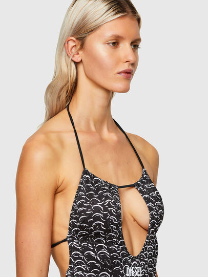 Diesel - BFSW-RHIAS, Black/White - Swimsuits - Image 3