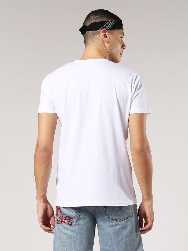 T-DIEGO-SX, White