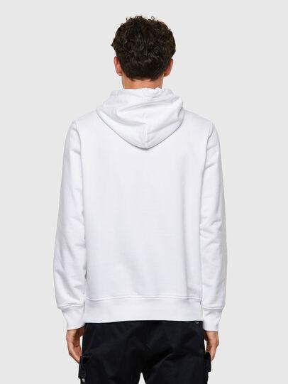 Diesel - S-GIRK-HOOD-ECOLOGO, White - Sweaters - Image 2
