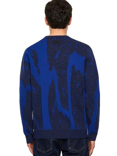 Diesel - K-TENNESSEE, Blue - Knitwear - Image 2