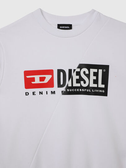 Diesel - SGIRKCUTY OVER, White - Sweaters - Image 3