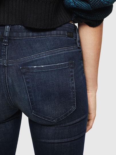 Diesel - Slandy Low 0870C, Dark Blue - Jeans - Image 4