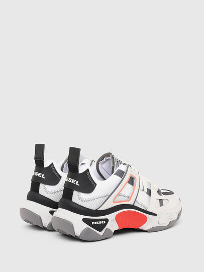 Diesel - S-KIPPER LOW TREK II, White - Sneakers - Image 3