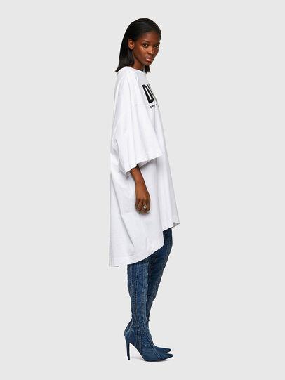 Diesel - D-EXTRA-ECOLOGO, White - Dresses - Image 4