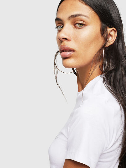 Diesel - T-SILY-WN, White - T-Shirts - Image 4