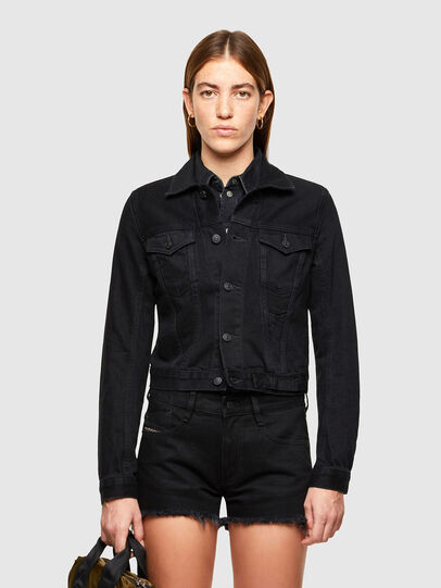 Diesel - DE-LIMMY, Black - Denim Jackets - Image 1