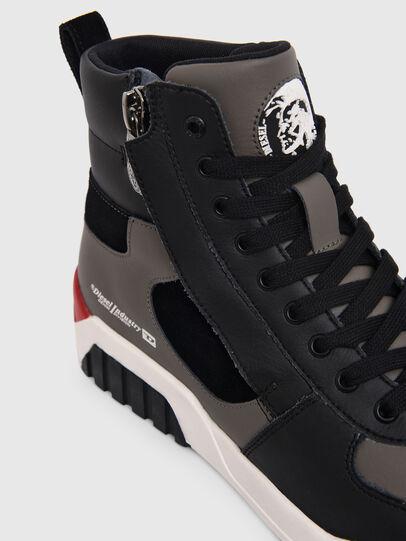Diesel - S-RUA MID SK, Grey - Sneakers - Image 4