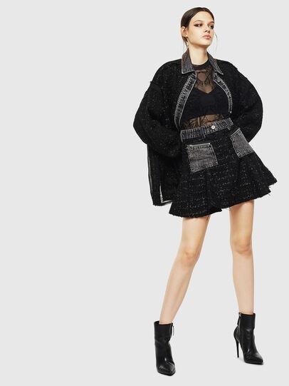 Diesel - O-NYELA, Black - Skirts - Image 6