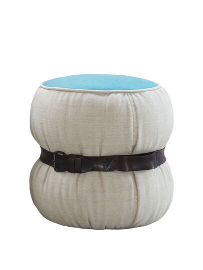 Diesel - CHUBBY CHIC - SMALL POUF, Multicolor  - Furniture - Image 2