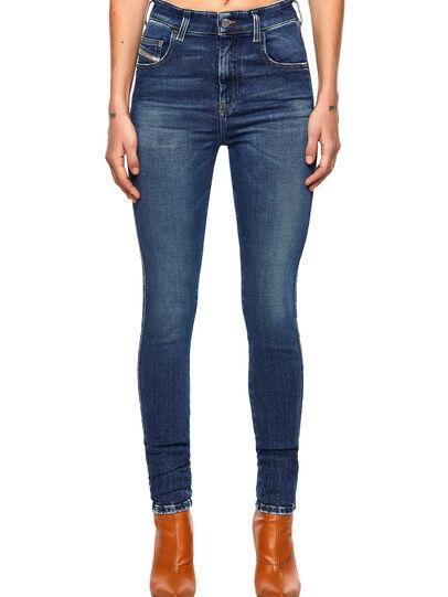 Diesel - Slandy High 009ZX, Dark Blue - Jeans - Image 1