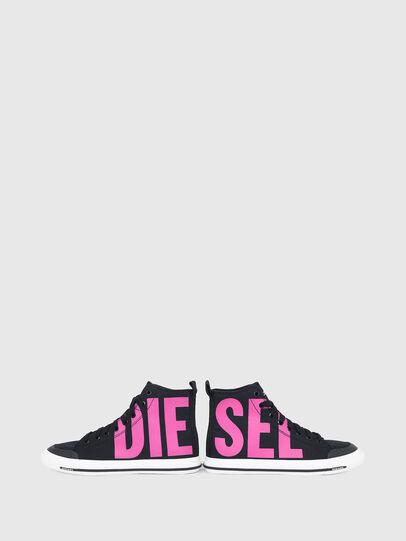 Diesel - S-ASTICO MID CUT W, Black/Pink - Sneakers - Image 4