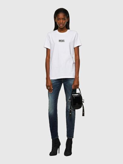 Diesel - T-SILY-ECOSMALLOGO, White - T-Shirts - Image 4
