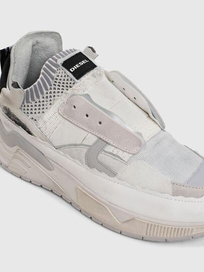 Diesel - S-BRENTHA DEC, White - Sneakers - Image 5