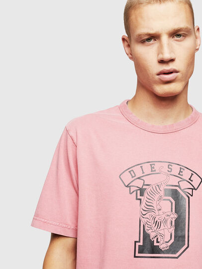 Diesel - T-JUST-B2, Pink - T-Shirts - Image 3